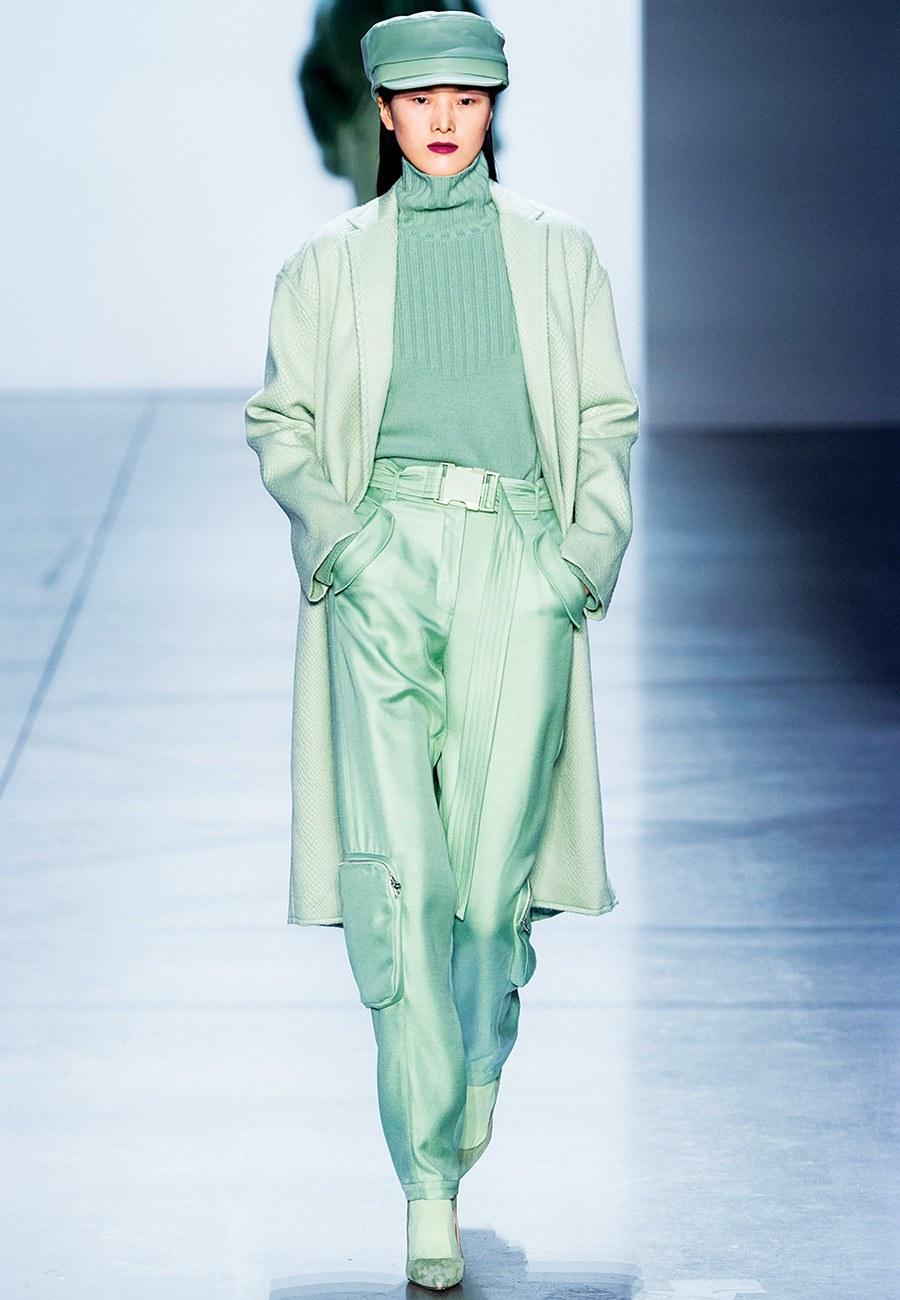 fall green fashion