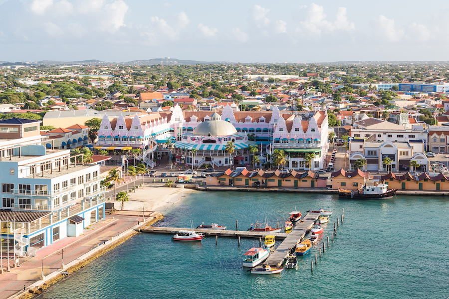 beach destinations aruba