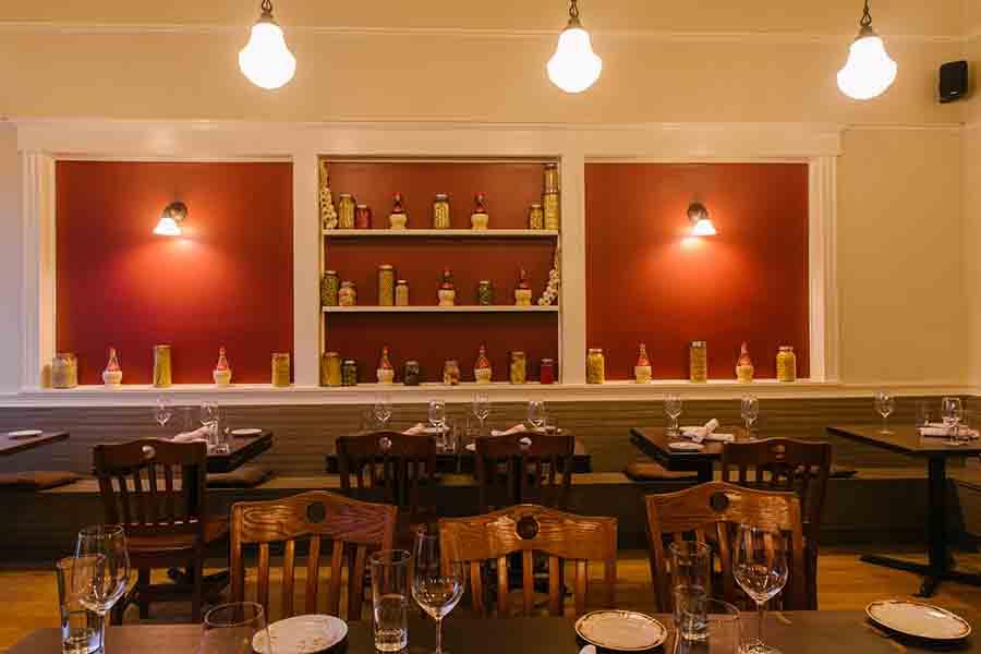 Grassona's dining room