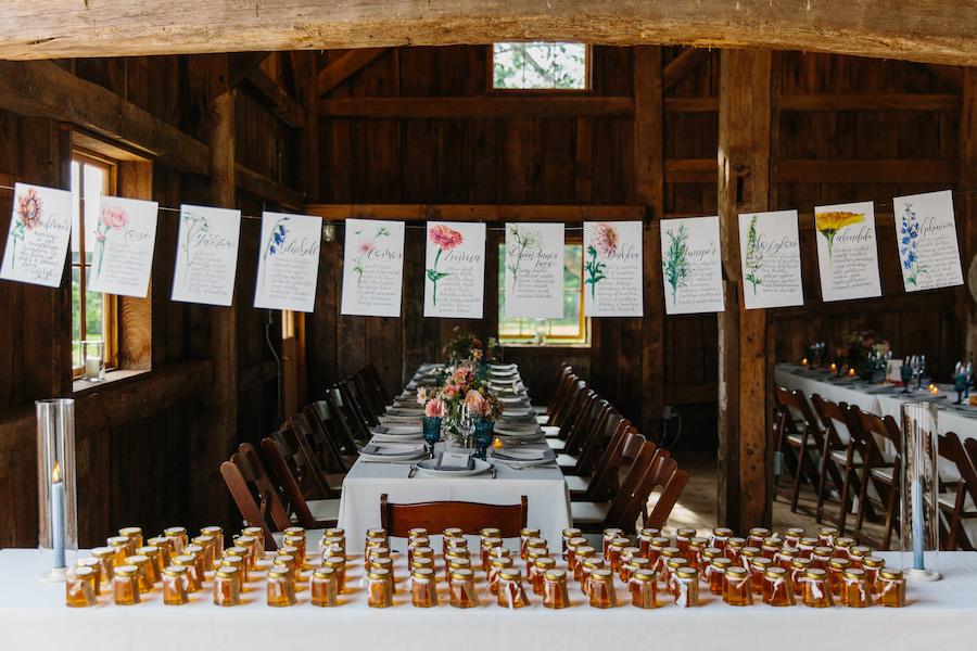 flower farm wedding