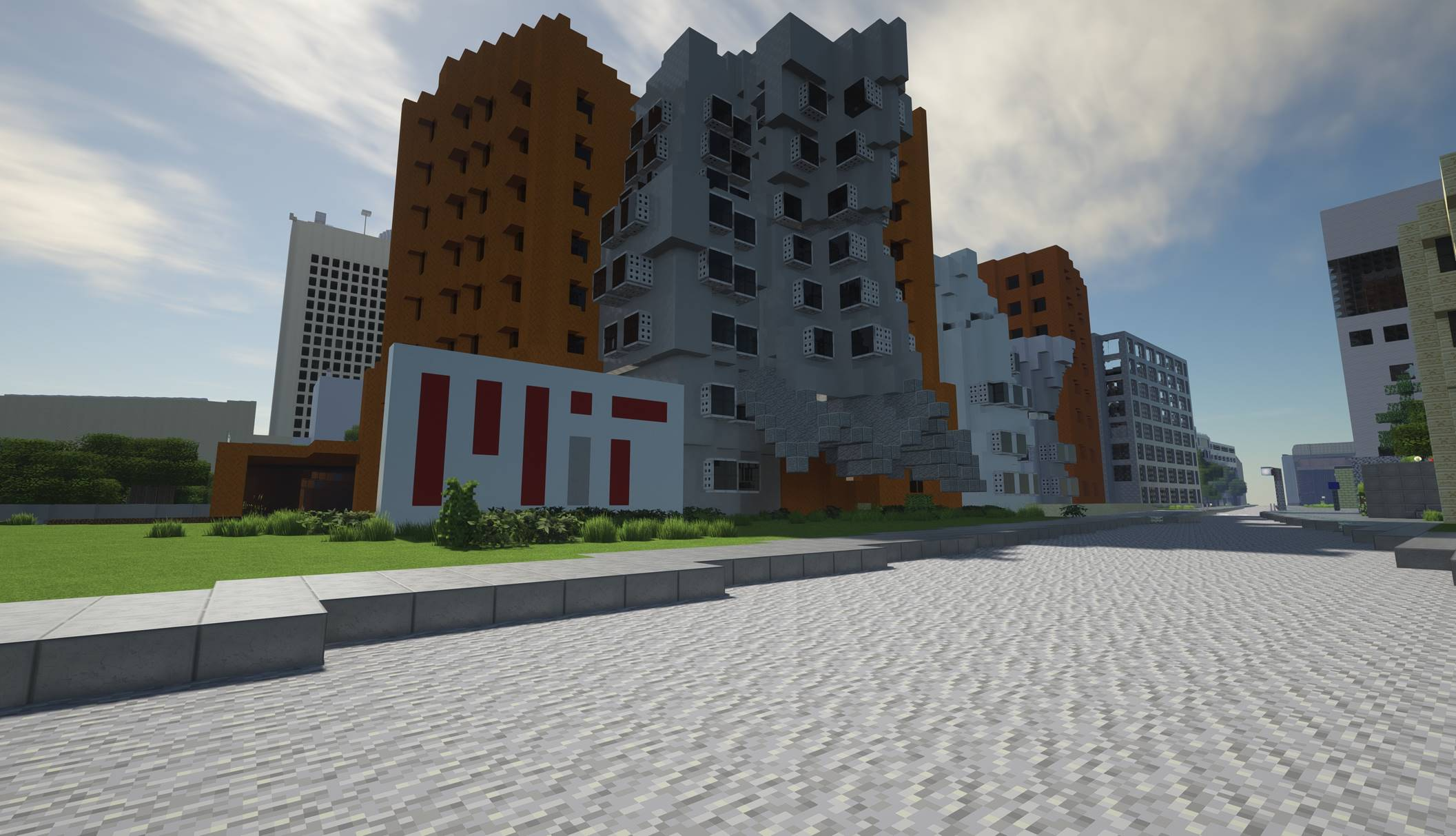 MIT Out-MITs Itself; Builds Full Scale Campus Replica on Minecraft