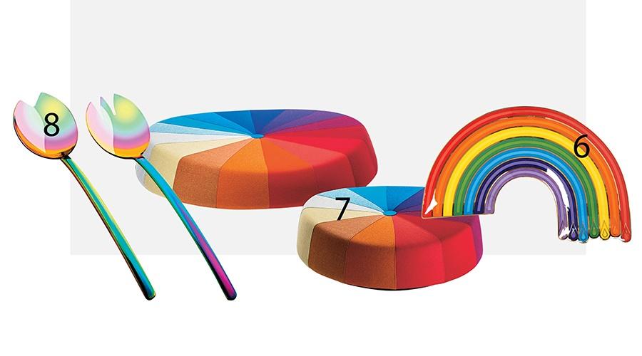 rainbow home accessories