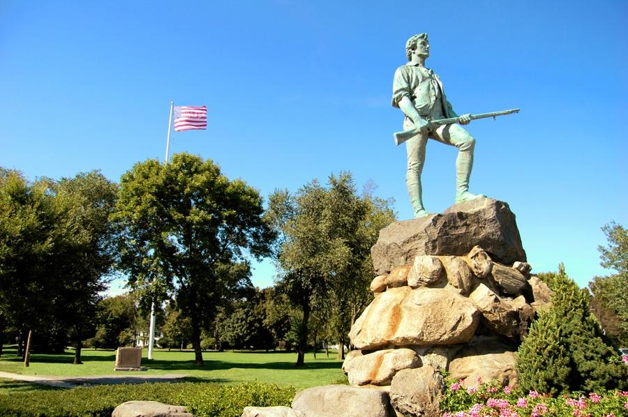 minuteman statue lexington