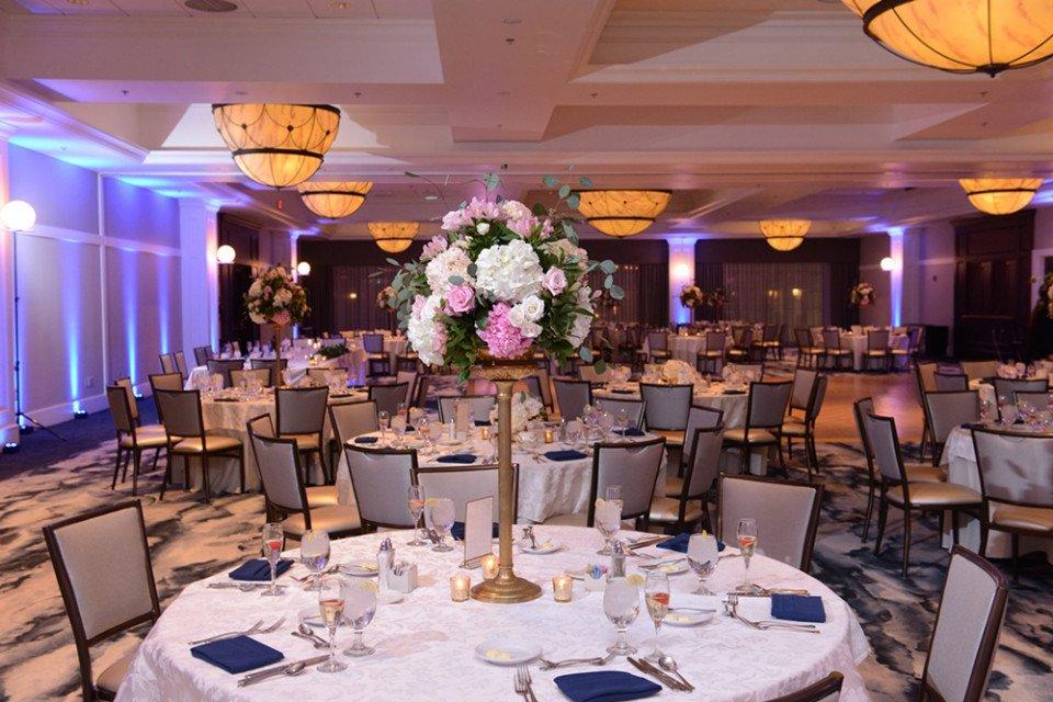 tiffany ballroom wedding