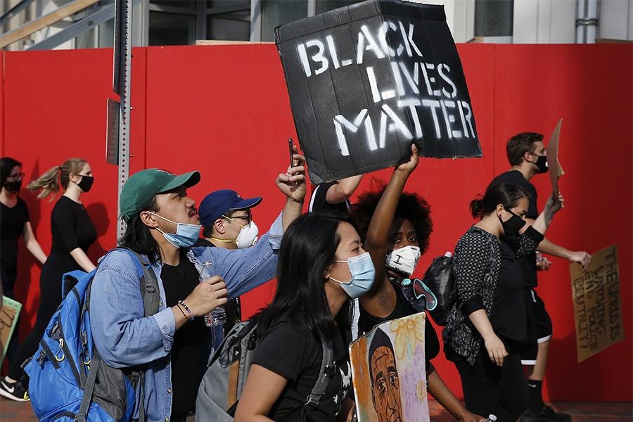black lives matter protest boston