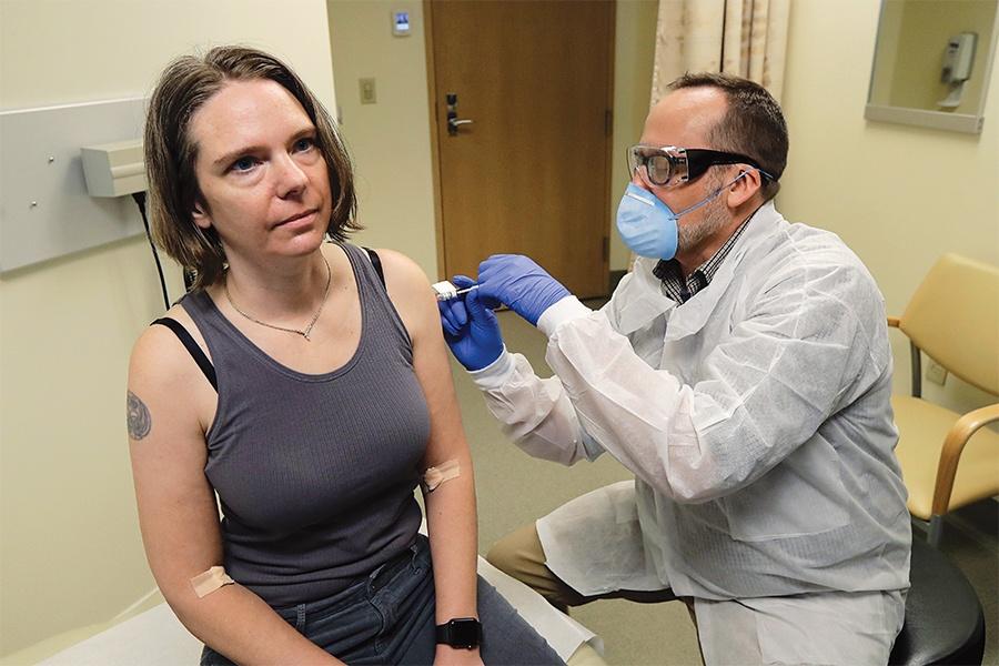 jennifer haller moderna vaccine
