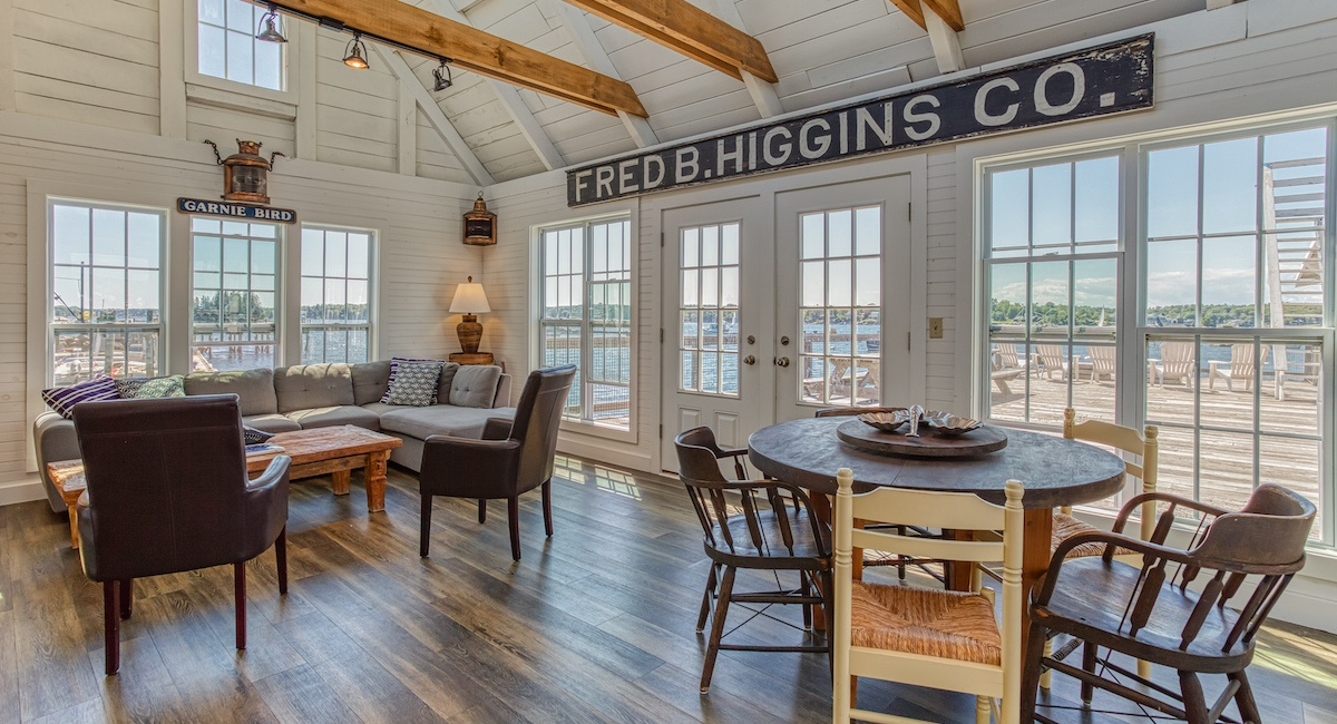 On The Market A Coastal Hideaway In Boothbay Harbor Maine