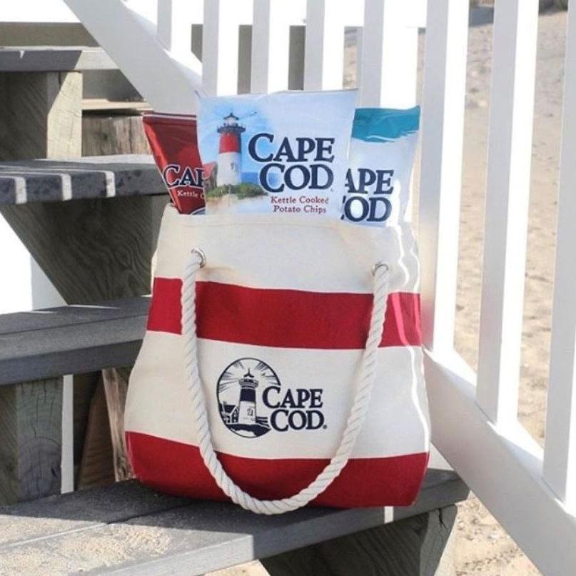 cape cod potato chips in tote bag