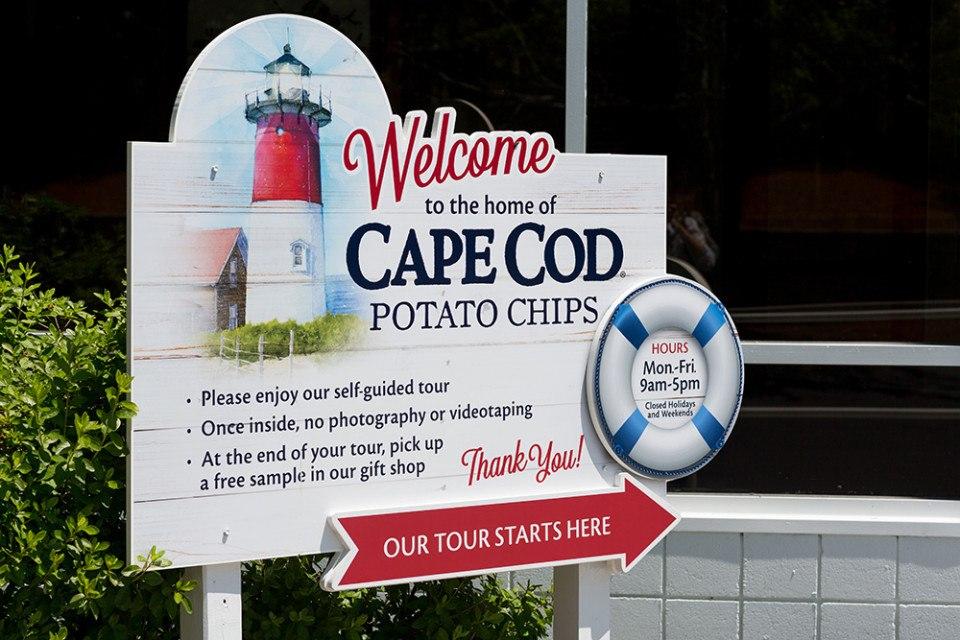 cape cod chips factory tour