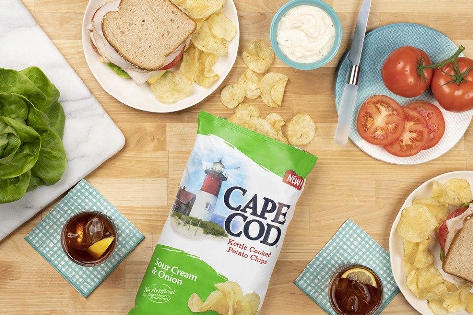 cape cod chips sour cream and onion