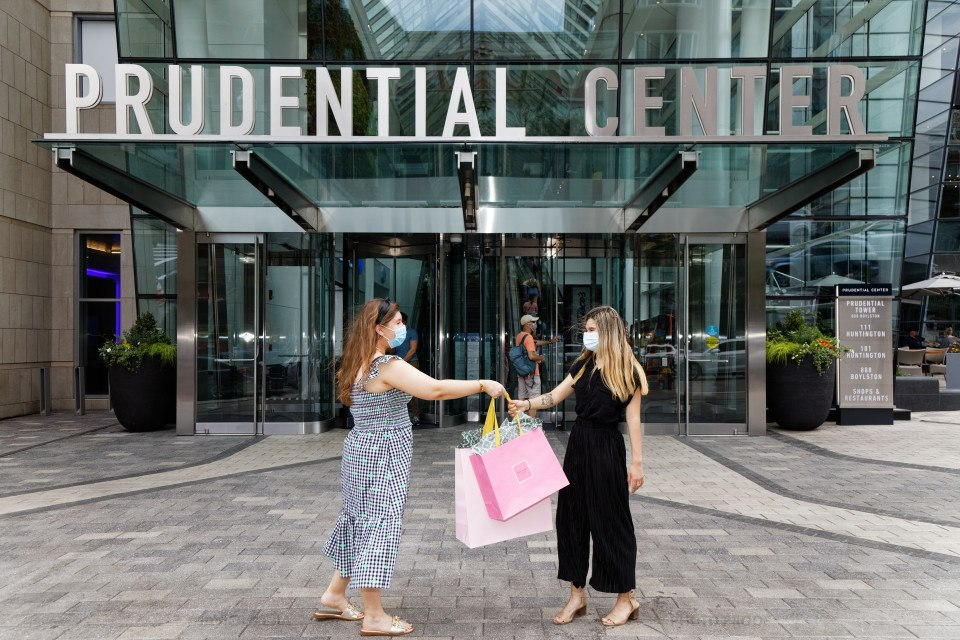 prudential center shopping