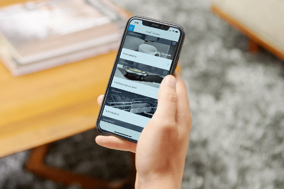 thermador connected phone app