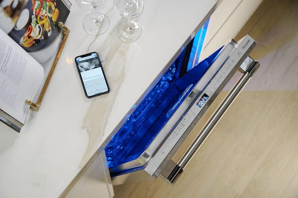 thermador smart dishwasher