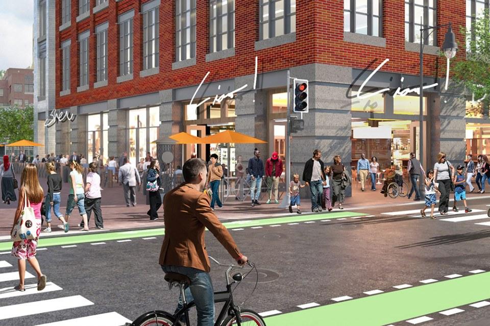 First Street CambridgeSide Retail