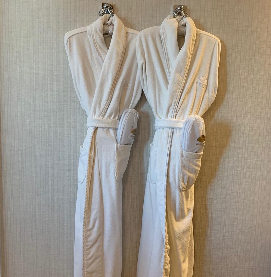 mandarin oriental bathrobes