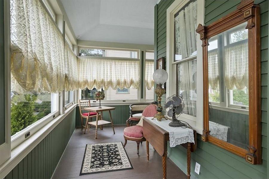 lizzie borden house porch