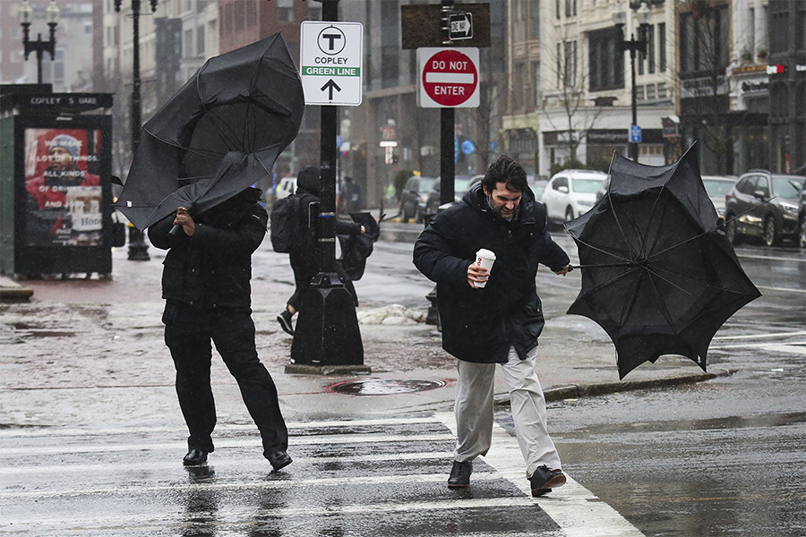 bad weather in boston