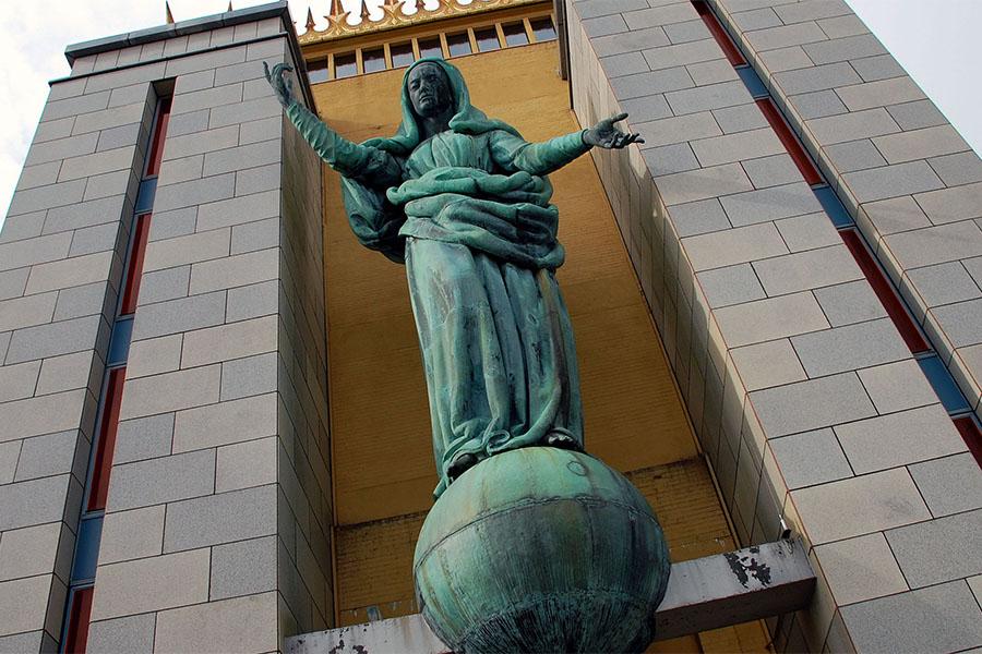 east boston madonna statue