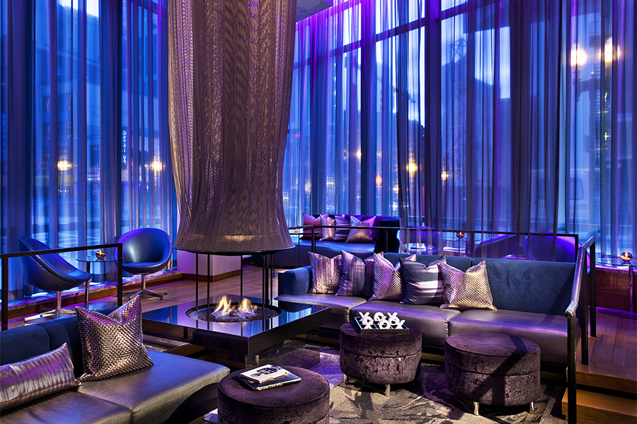W hotel lounge