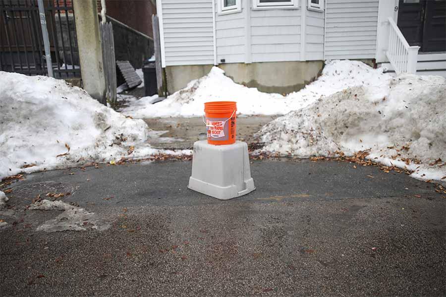 bucket space saver