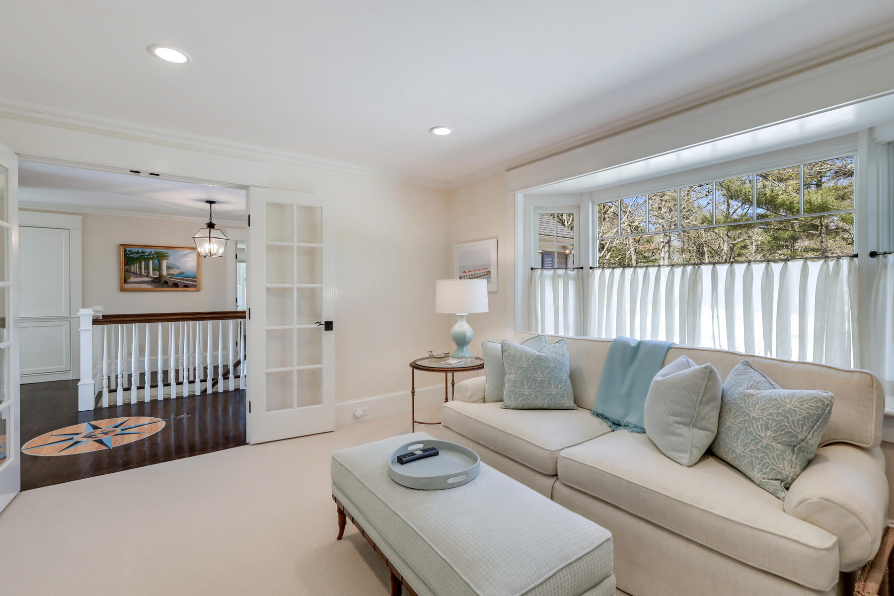 Osterville Cape living room