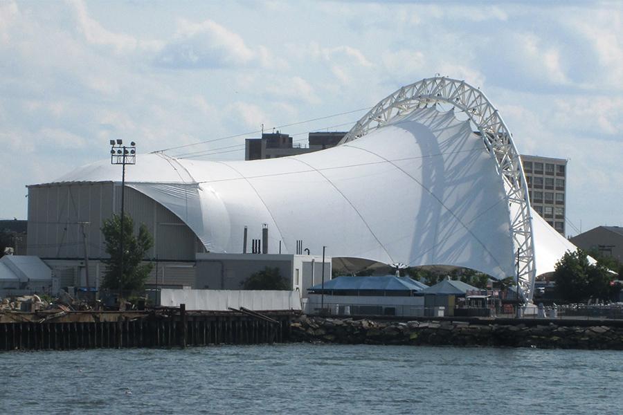 waterfront pavilion concert venue