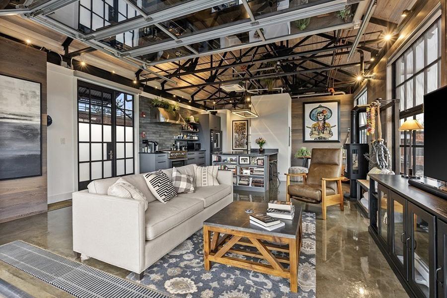 somerville penthouse loft 2