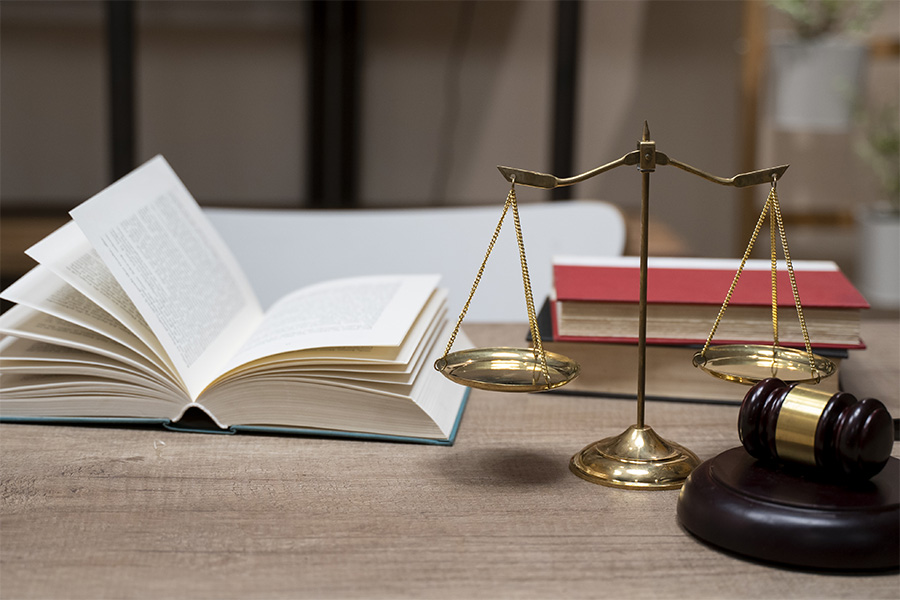 book justice scales gavel
