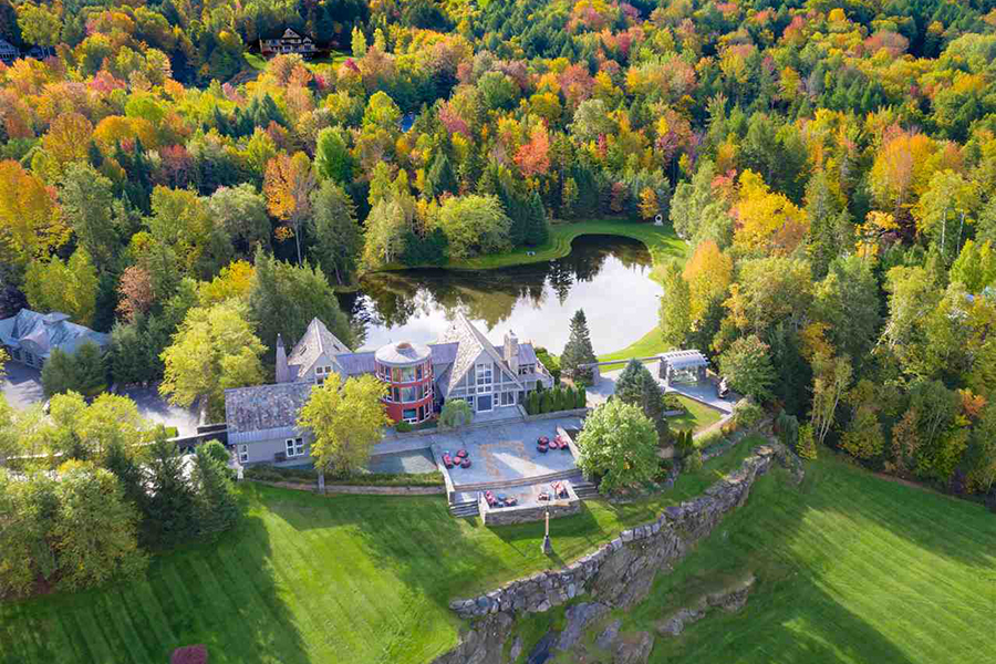 VT waterfront home