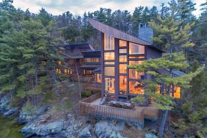 stunning lake house social
