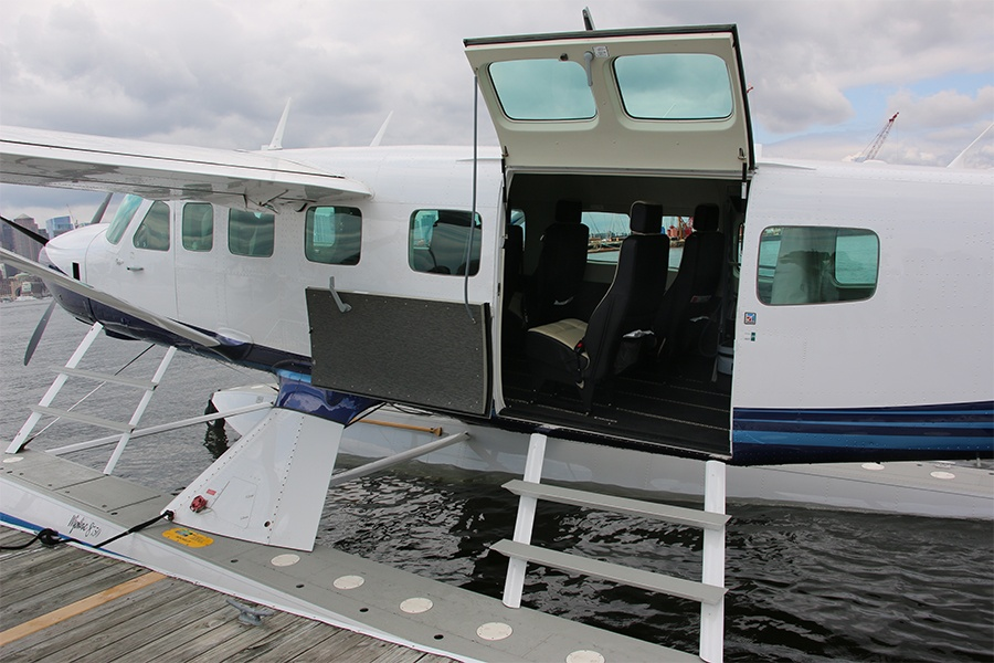 seaplane interior
